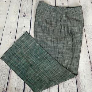Lafayette 148 NY Silk & Linen Slacks